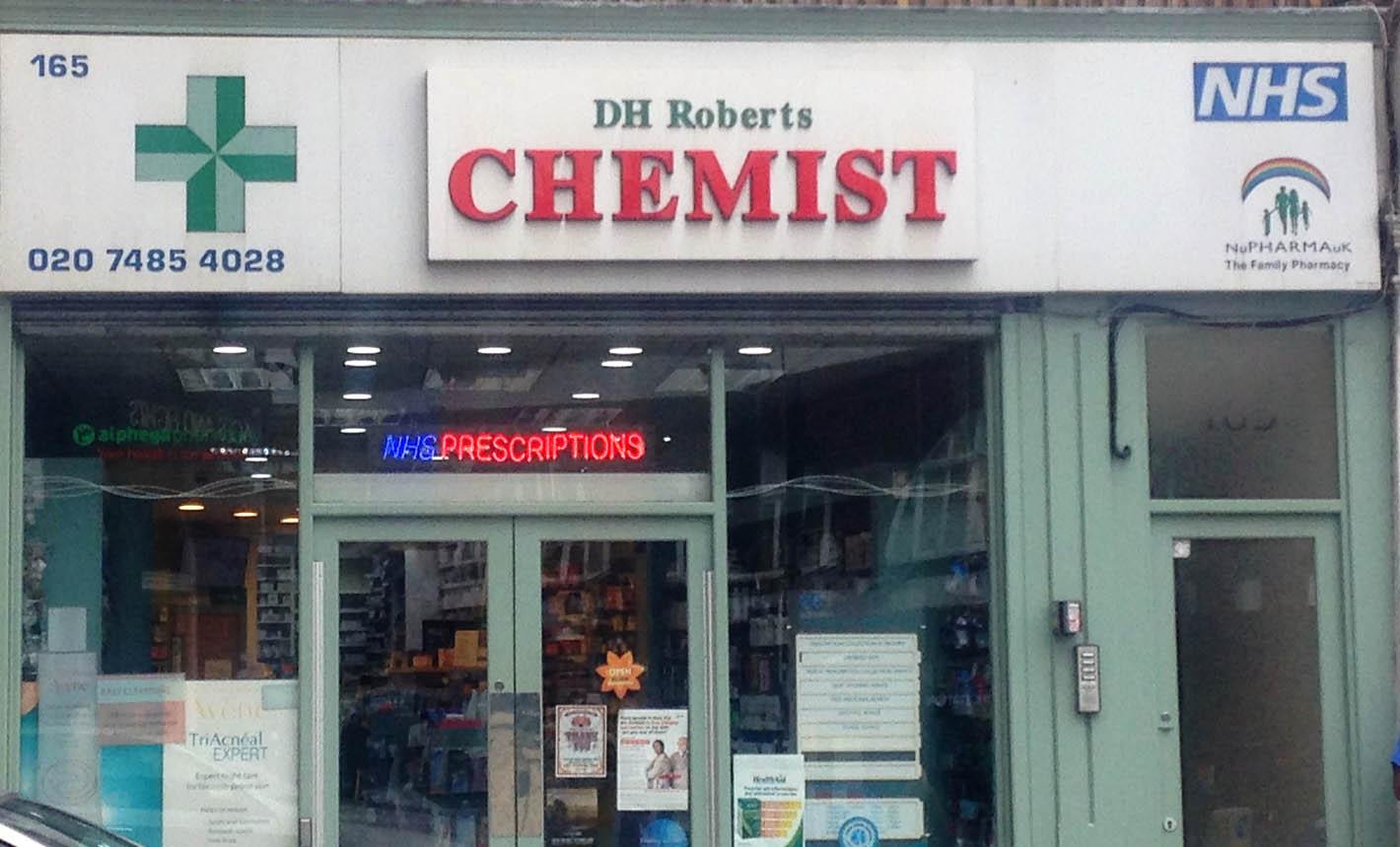 DH Roberts Chemist